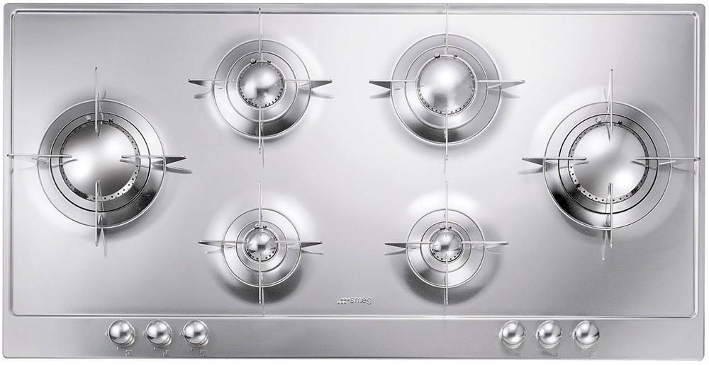 plaque de cuisson gaz p106es smeg. Black Bedroom Furniture Sets. Home Design Ideas