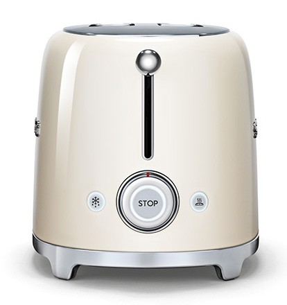 ensemble smeg bouilloire klf01 toaster tsf01 cr me. Black Bedroom Furniture Sets. Home Design Ideas