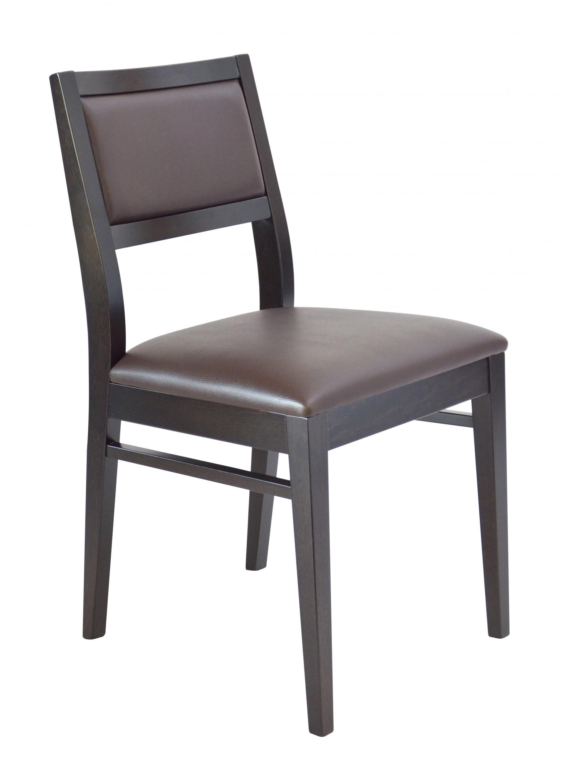 chaise de restaurant aspect cuir justina arberi. Black Bedroom Furniture Sets. Home Design Ideas