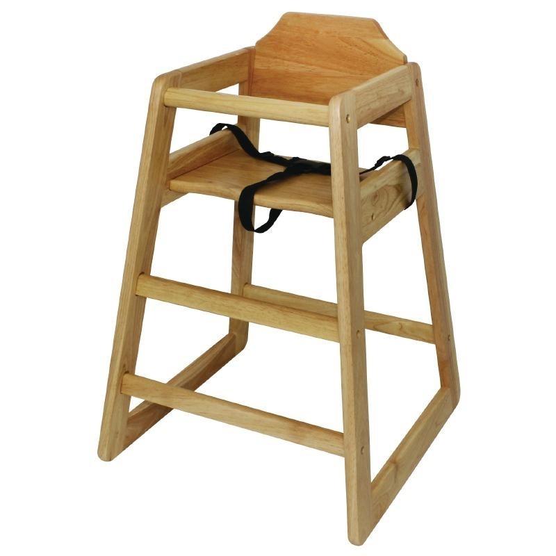 Chaise haute en bois catnou for Chaise haute bois