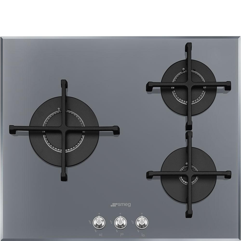 Cuisine Au Gaz Ou Induction table de cuisson gaz 60 cm pv163s2 - smeg