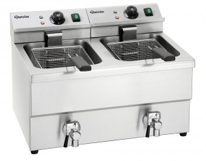 "Friteuse double ""IMBISS II"" 2 x 8L - Bartscher"
