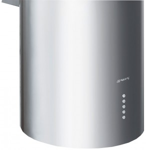 Hotte décorative d'îlot central KIR37XE - SMEG