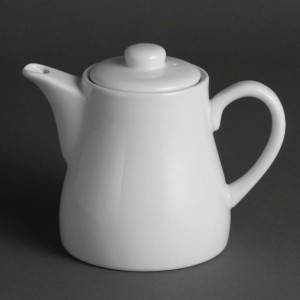 Théières blanches 480ml U822 x4 - Olympia Whiteware