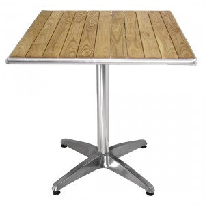 Table carrée en frêne - U430/CG835