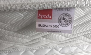 Matelas Epeda Pro/Business 5000 - Ep. 28 cm