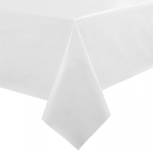 Nappe PVC blanche rectangulaire - GH176